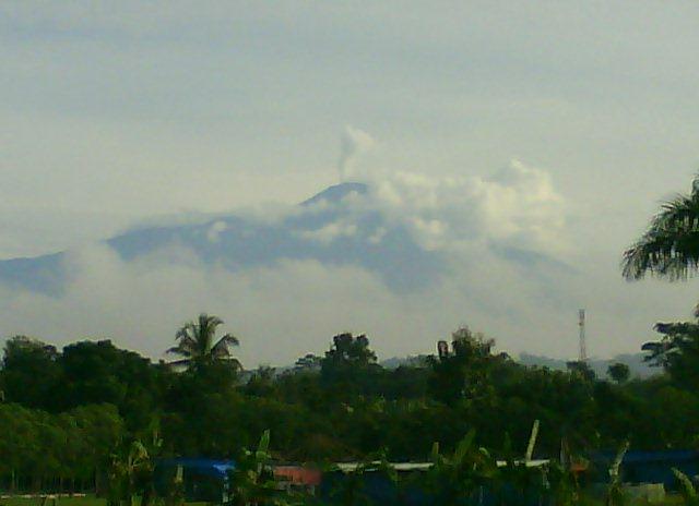 gunung slamet angop