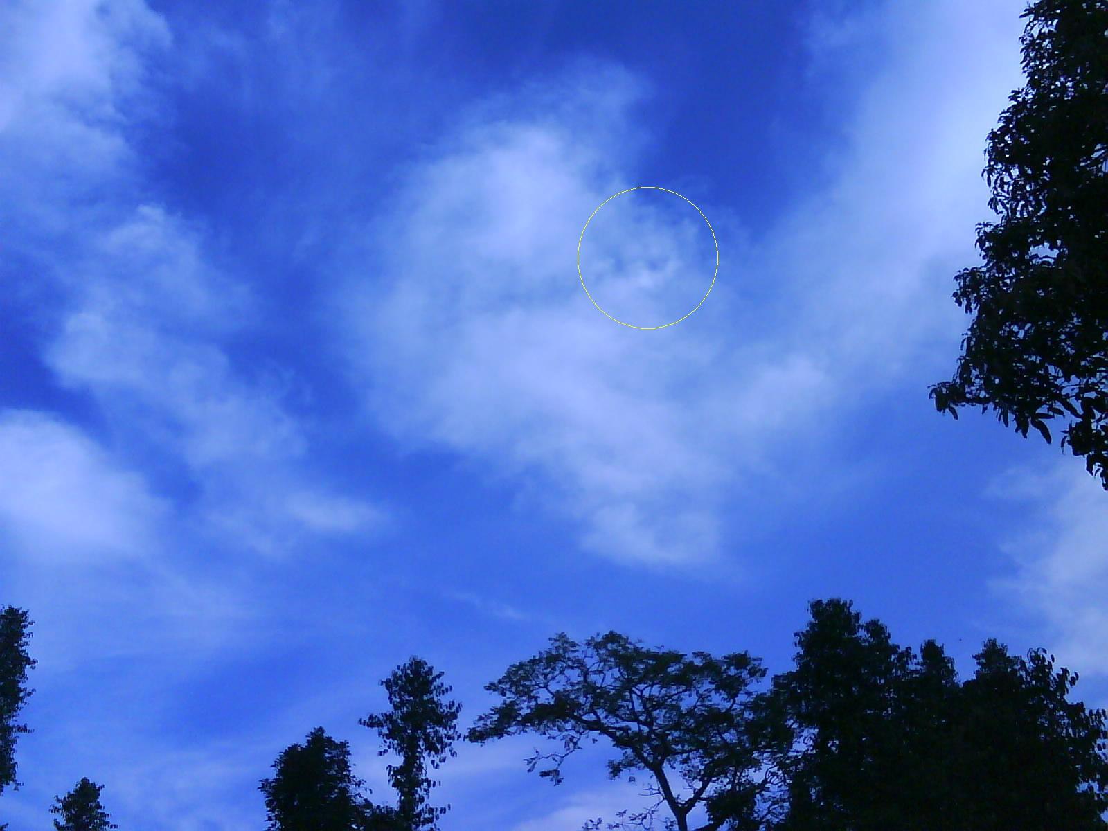 Allah SWT awan kalimat Allah langit tanda-tanda kebesaran Allah